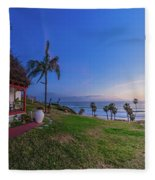 The Beachombers Views Fleece Blanket