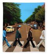 The Beatles Abbey Road Fleece Blanket