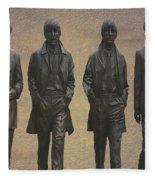 The Beatles N F Fleece Blanket