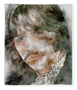 The Beatles Ringo Starr Fleece Blanket