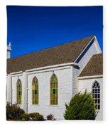 The Beautiful Bodega Church St. Teresas Of Avila  Fleece Blanket