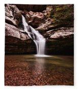 The Beautiful Cedar Falls Fleece Blanket