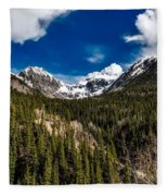 The Beautiful San Juan Mountains Fleece Blanket