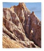 The Beauty In Erosion Fleece Blanket