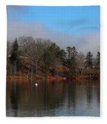 The Beauty Of Lake Junaluska  Fleece Blanket