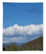 The Beauty Of Rain Clouds Fleece Blanket