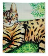 The Bengal Fleece Blanket