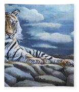 The Bengal Tiger Fleece Blanket