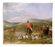 The Berkeley Hunt Fleece Blanket