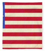 The Betsy Ross Flag Fleece Blanket