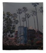 The Beverly Hills Hotel Fleece Blanket