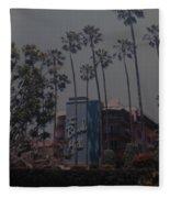 The Beverly Hills Hotel Fleece Blanket