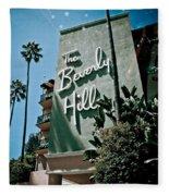 The Beverly Hills Fleece Blanket