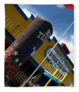 The Big Texan II Fleece Blanket