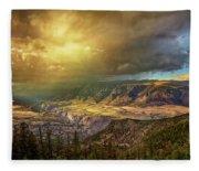 The Big Valley Fleece Blanket