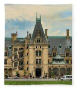 The Biltmore House Fleece Blanket