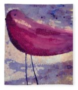 The Bird - K0912b Fleece Blanket