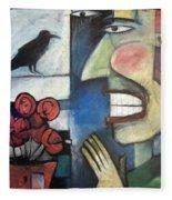 The Bird Watcher Fleece Blanket