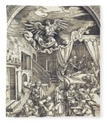 The Birth Of The Virgin Fleece Blanket