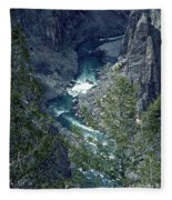 The Black Canyon Of The Gunnison Fleece Blanket