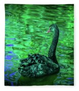 The Black Swan Fleece Blanket