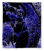 The Blue Angel Fleece Blanket