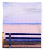 The Blue Bench Fleece Blanket