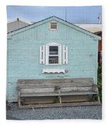 The Blue House Fleece Blanket