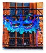 The Blue Mask Fleece Blanket