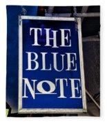 The Blue Note - Bourbon Street Fleece Blanket