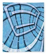 The Blue Room Fleece Blanket