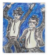 The Blues Brothers Fleece Blanket