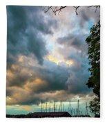 The Boathouse Fleece Blanket