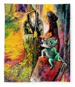 The Book Of Magic Fleece Blanket