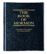 The Book Of Mormon Fleece Blanket