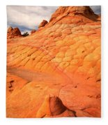 The Boot And The Butte Fleece Blanket