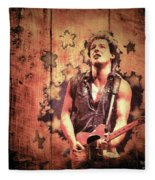 The Boss 1985 Fleece Blanket