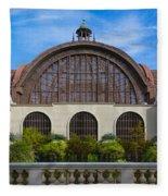 The Botanical Building Fleece Blanket