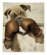 The Boxer Fleece Blanket