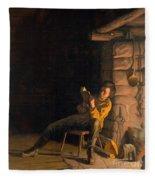 The Boyhood Of Lincoln Fleece Blanket