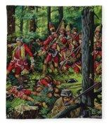 The Braddock Massacre Fleece Blanket