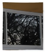The Branch Window Fleece Blanket
