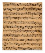 The Brandenburger Concertos Fleece Blanket