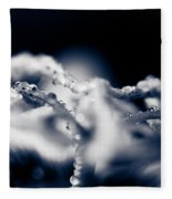 The Breath Of Kindness Fleece Blanket