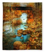 The Bridge By Government Street Fleece Blanket