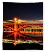 The Bridge Fleece Blanket