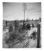 The Broken Fence Fleece Blanket