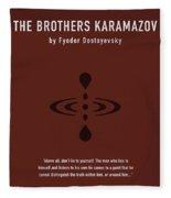 The Brothers Karamazov Greatest Books Ever Series 015 Fleece Blanket