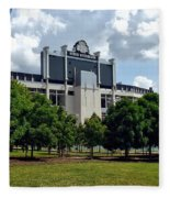 The Buckeye Grove Around Ohio Stadium Fleece Blanket