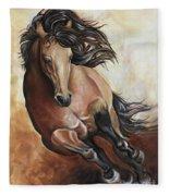 The Buckskin Gallop Fleece Blanket